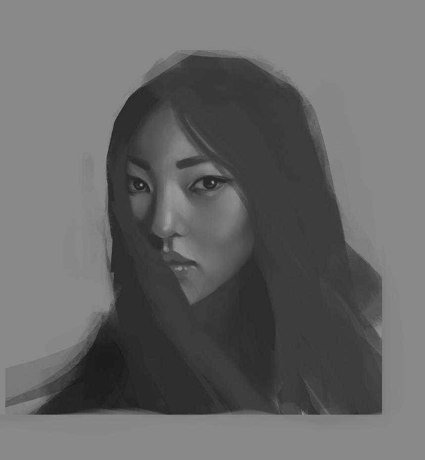 Portrait Study by globulr