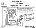 FML - Problem Exists Between Keyboard And Chair