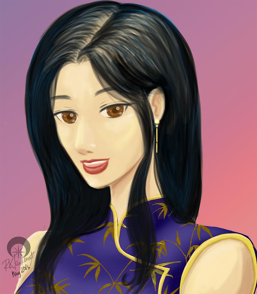 Xiao Zhu by cutelildrow
