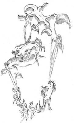 ink fantasy - lizards