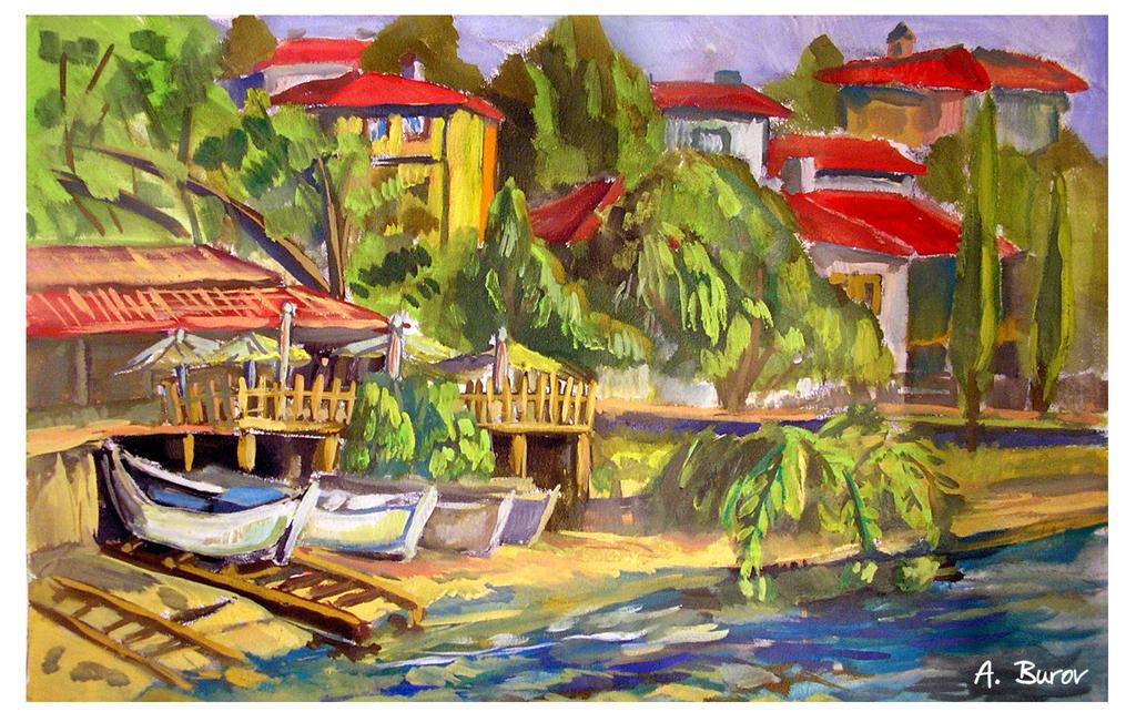 Balchik- Quay 2004
