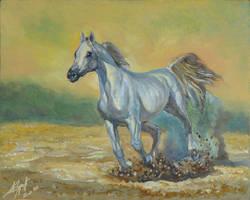 Horse by Burov