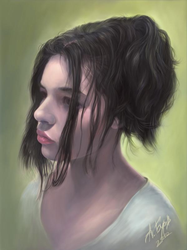 Portrait of Cvetomira Tsekova