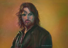 Aragorn (Elessar) by Burov