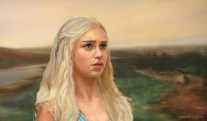 Daenerys Targaryen by Burov