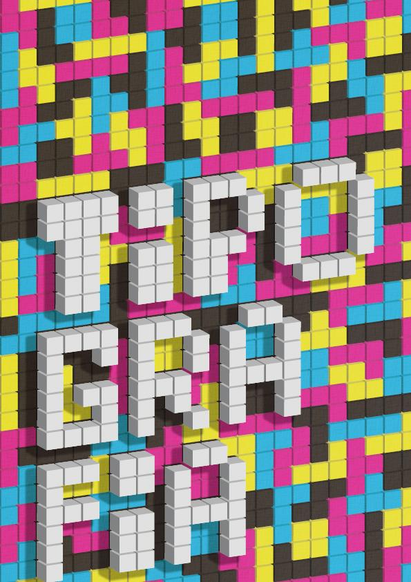 Tetris Typography by TiagosemH