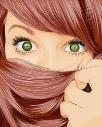 Hair Vector by TiagosemH