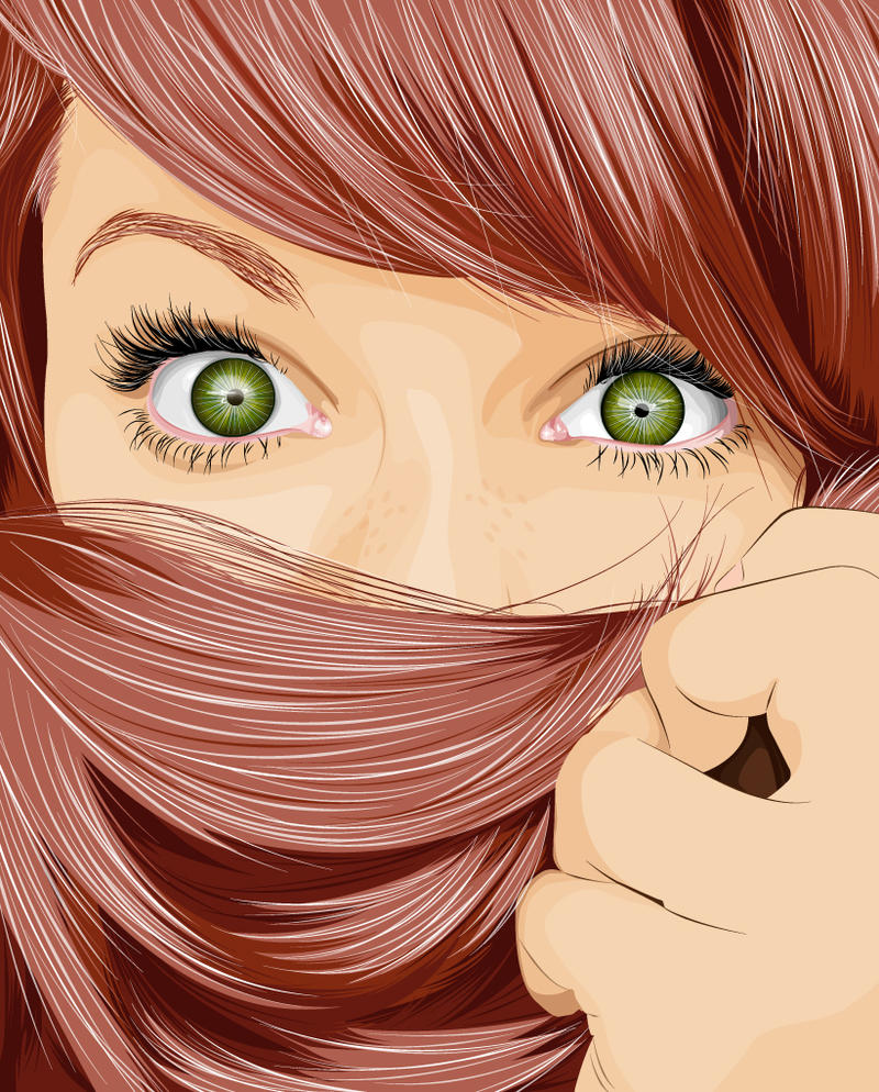 Hair Vector by TiagosemH on DeviantArt