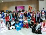 AWA 2017 -Fairy Tail group photo