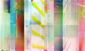Rainbow stripe: large texture by churro1029