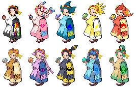 Pokemon Kimono Sisters HG SS