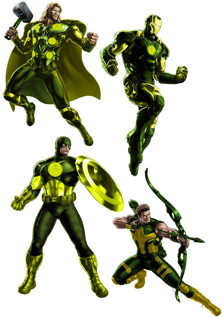 Hydra Four Avangers Allaince by ps2105