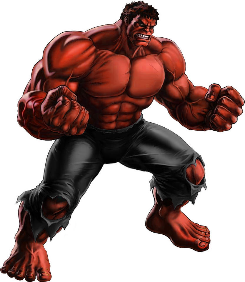 Red Hulk Avengers Allaince by ps2105 on DeviantArt
