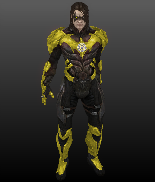 Injustice Gods Among Us Sinestro Corps Nightwing by ps2105