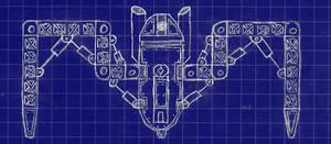 Dalek Tripedal Assault Blueprint
