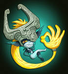 Commission: Cheeky Midna by Ravencourse