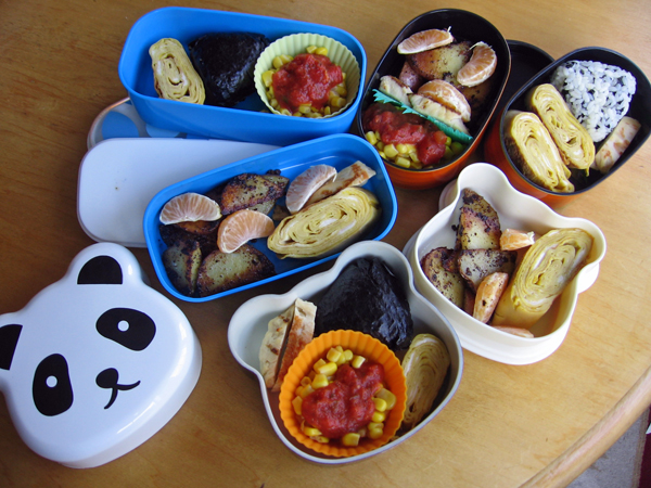 Bento for Three by sake-bento