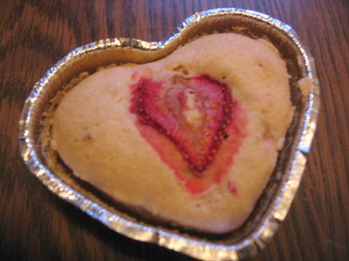 Strawberry Love Scone + Recipe by sake-bento