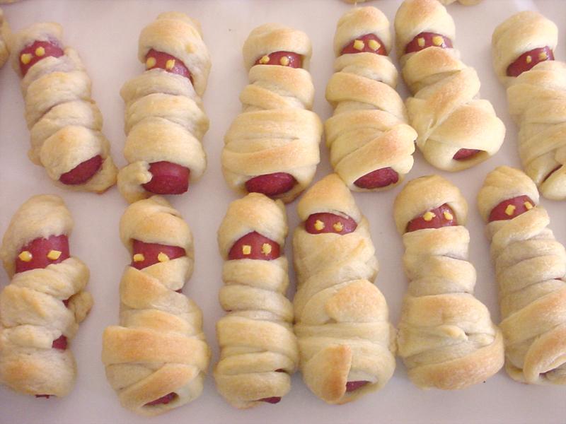 Hotdog Mummies by sake-bento