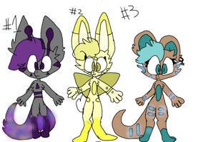 Furry Adopts by WaffleTerminator12