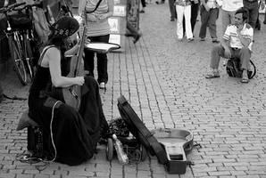 street musician by vtr1000f