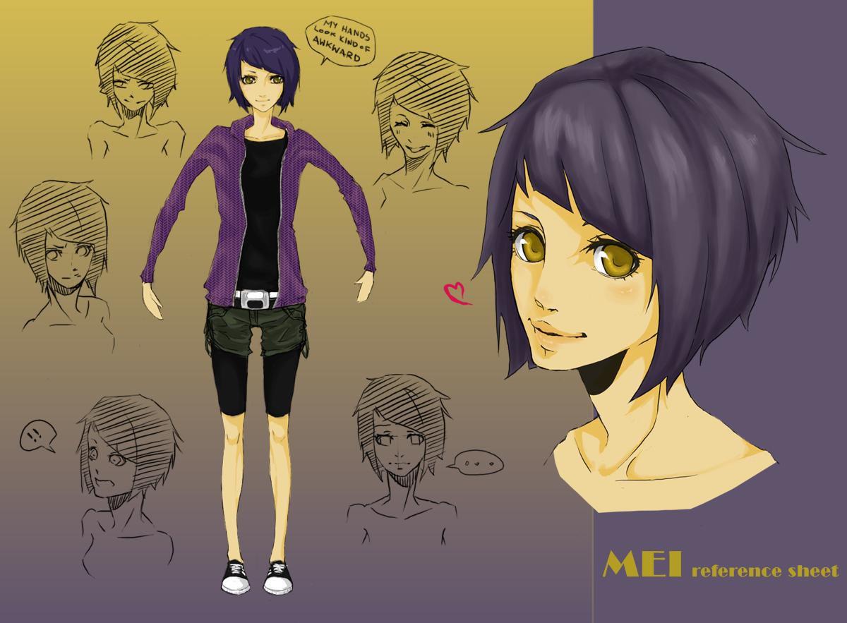 Mei Character Sheet by rivaste