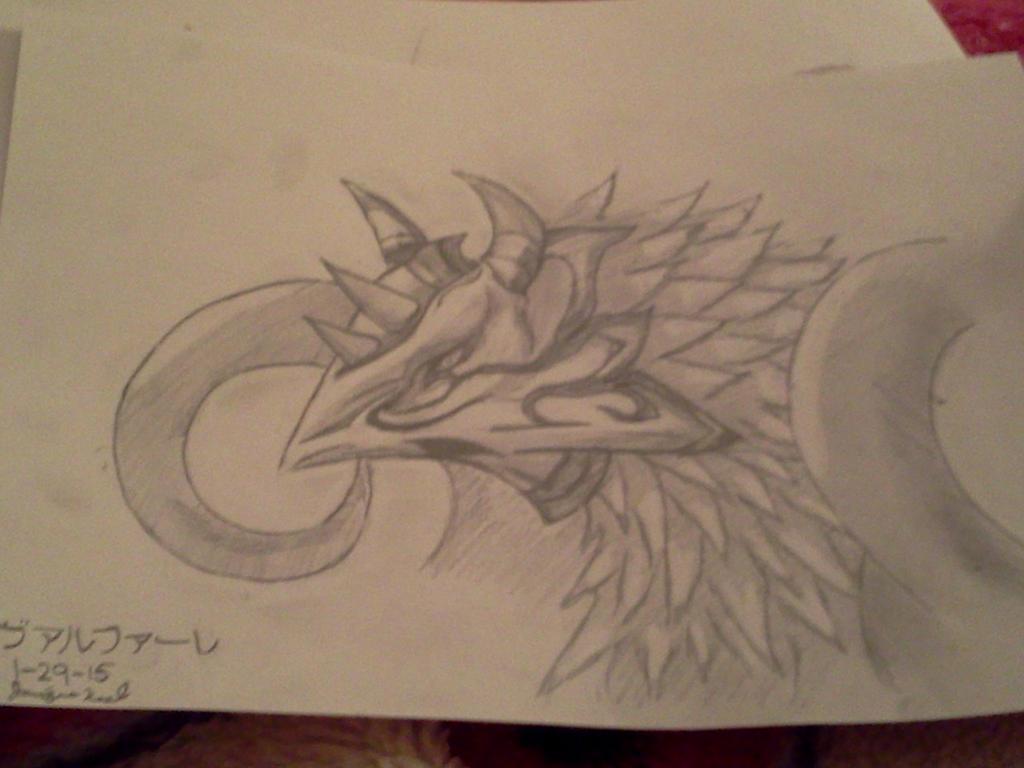Valefor sketch by rikkurikkujmr2k