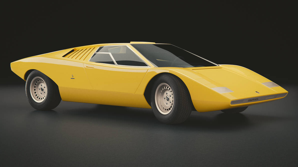 Lamborghini Countach Lp500 Prototype By Mexanist On Deviantart
