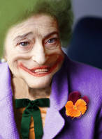 Old lady is the Joker by jeayese