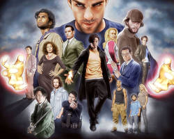 Heroes Wallpaper by jeayese