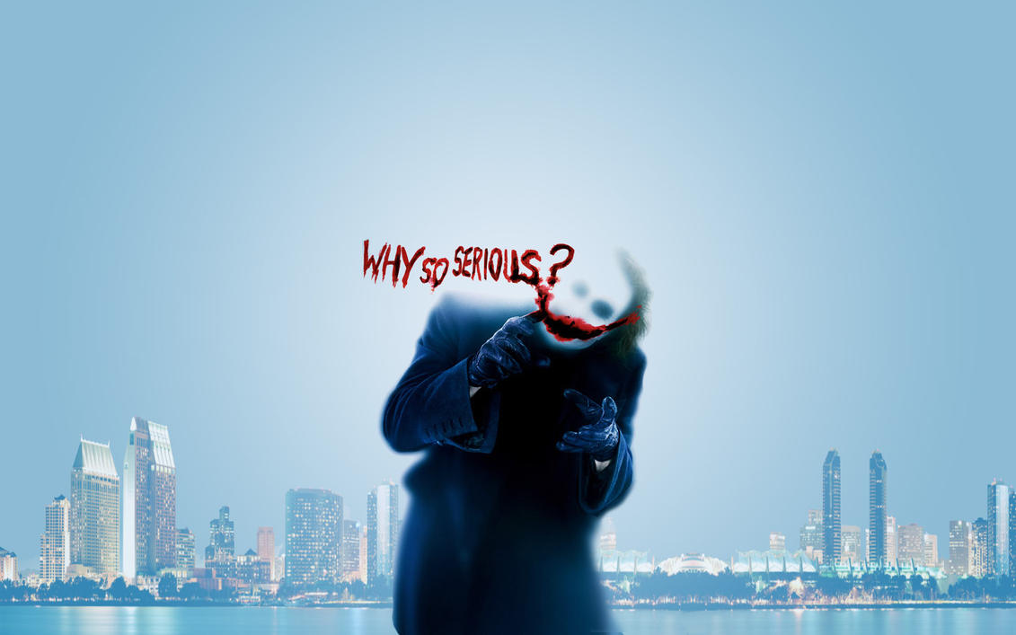 Why So Serious? 2 by jeayese