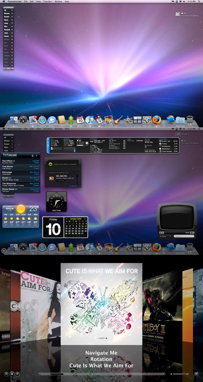 October Desktop 2 by jeayese