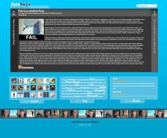 JaseSays 3.0 by jeayese