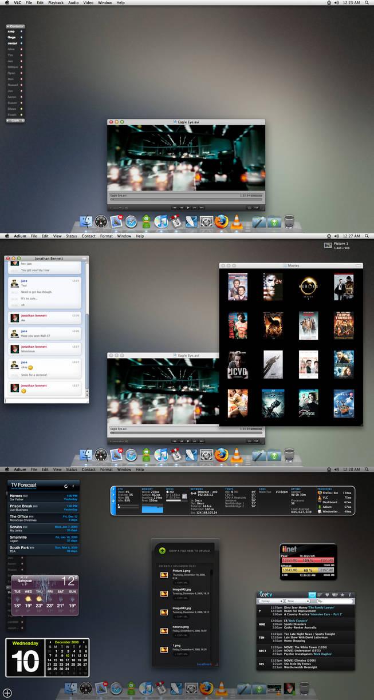 December Desktop by jeayese
