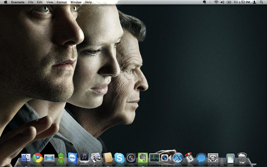 Macbook Desktop October 2010 by jeayese