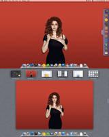 Macbook Air Desktop November by jeayese
