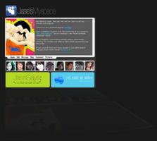 New Myspace page by jeayese