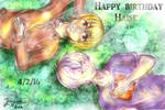 Happy birthday, Haise!