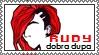 Rudy dobra dupa stamp by Rin-O
