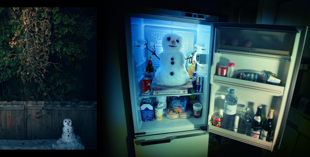 Snowman by Benowski