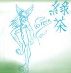 green tea bunny