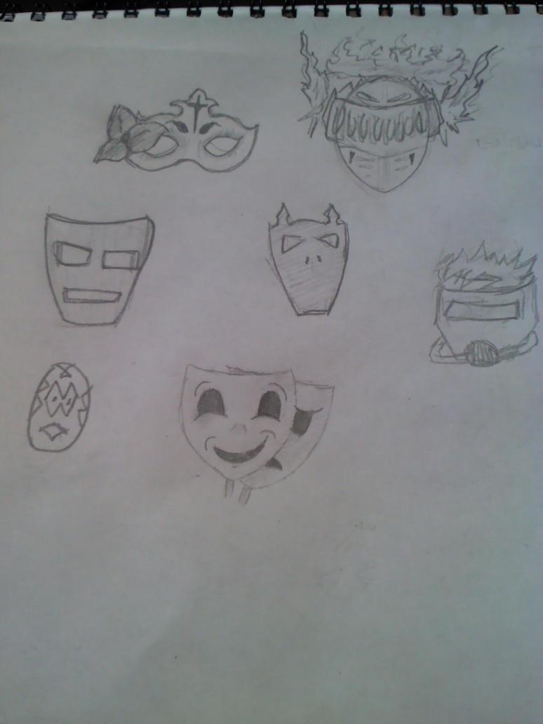 Mascaras by Worldboy1