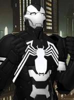 Iron Man + Venom by VanRiku