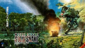 Metal Gear 2: Solid Snake - 1440p