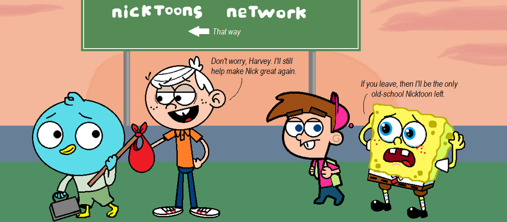 Nicktoons Departure By Lordodarkness84 On Deviantart-3453