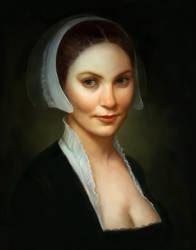 Flemish-style portrait