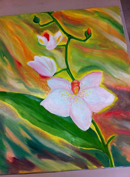 Flowers like vangogh