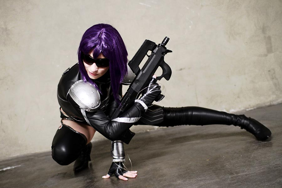 Motoko Kusanagi by Dr-Whom