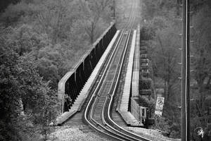 Missouri Pacific Train Bridge by PhillyPuddy
