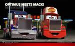 Cars   Optimus meets Mack